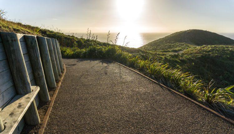 Der Weg zu Cape Reinga Neuseeland