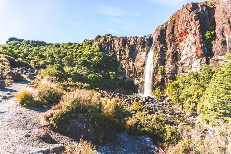 Whakapapa Village Wasserfälle
