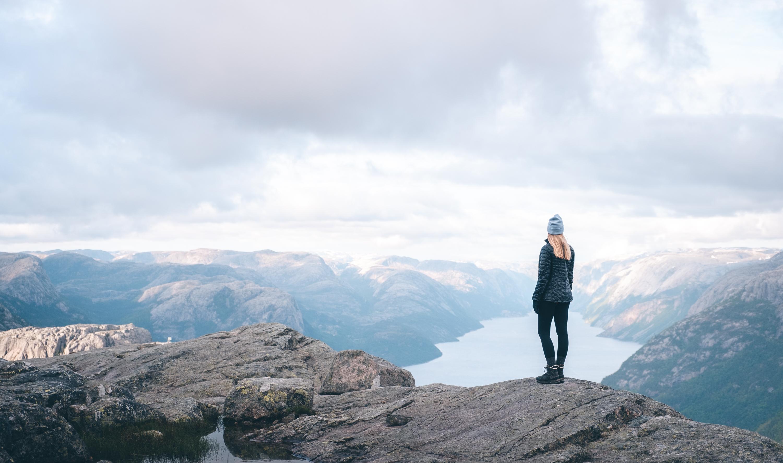 Aussicht über dem Lysefjord | © Boardshortslife