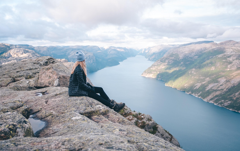 Aussicht über den Lysefjord beim Preikestolen | © Boardshortslife
