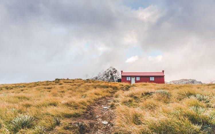 Brewster Hut Neuseeland