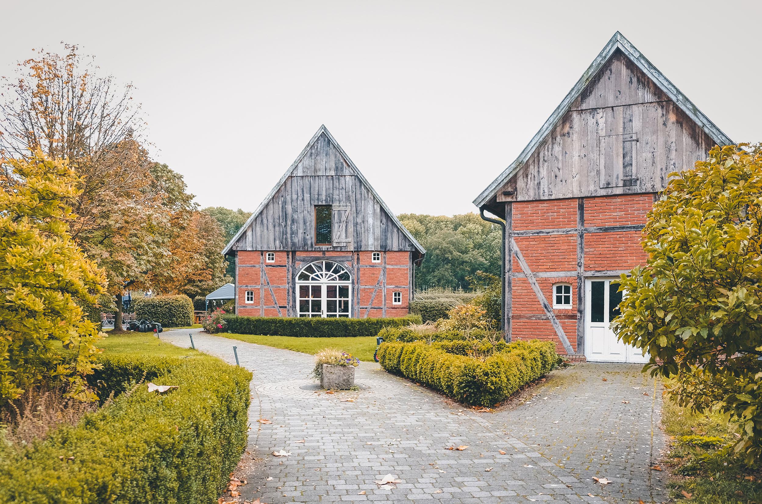 Fachwerkhäuser beim Hof Schulze Rötering