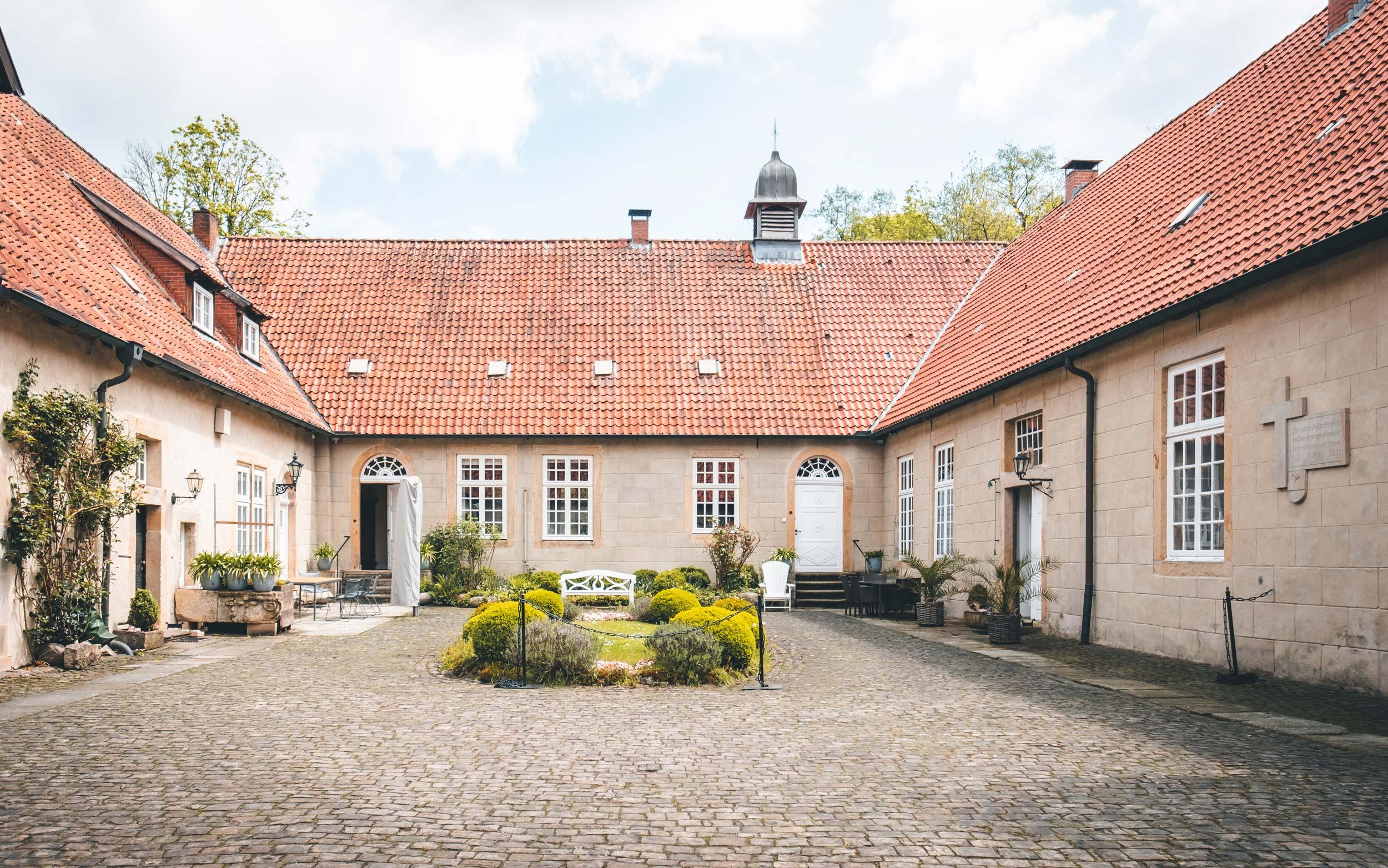 Haus Marck Innenhof