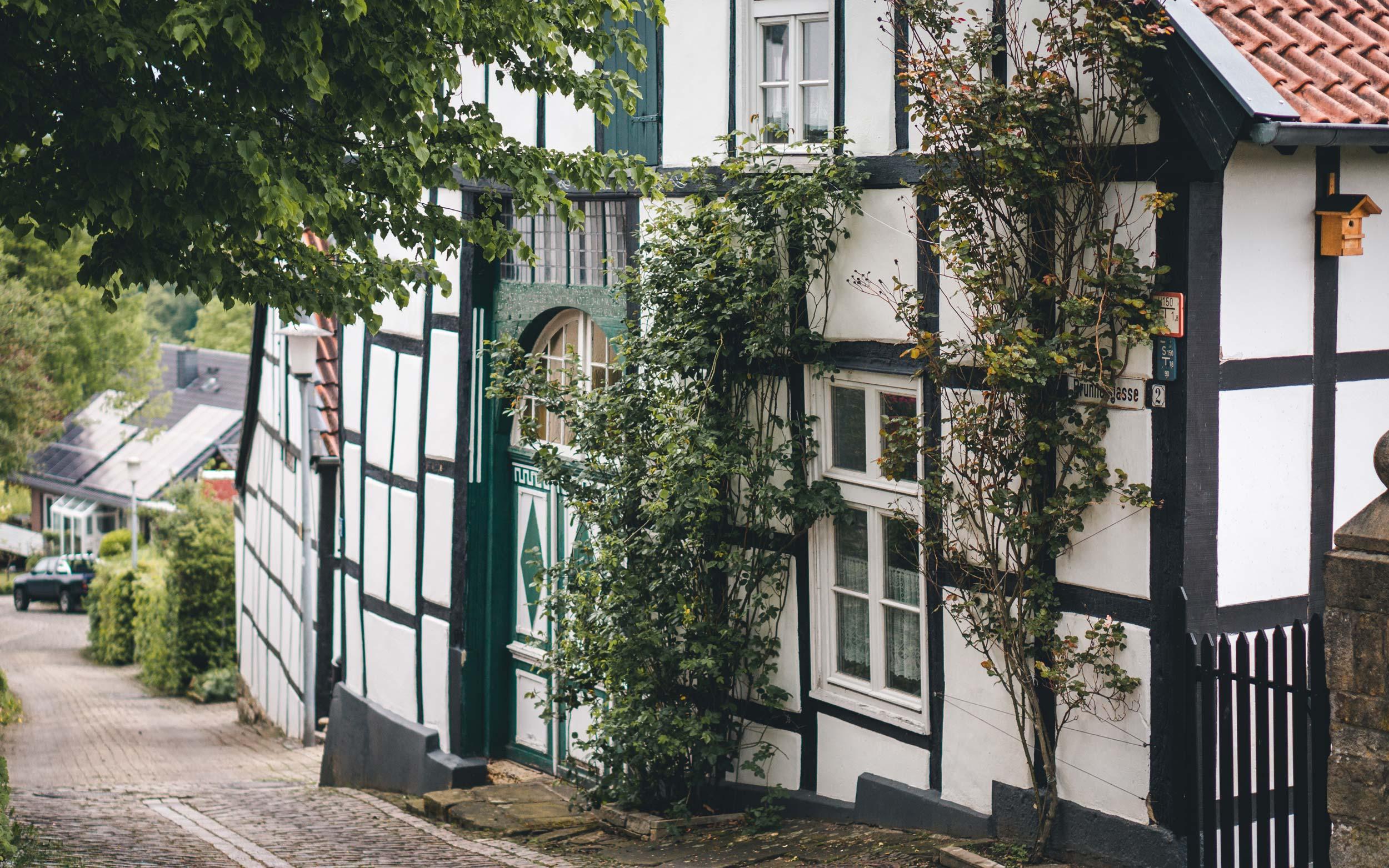 Fachwerkhäuser in Tecklenburg